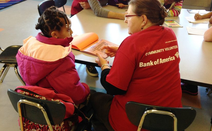 bank of america volunteering at clubs