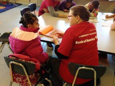 bank of america volunteering at clubs