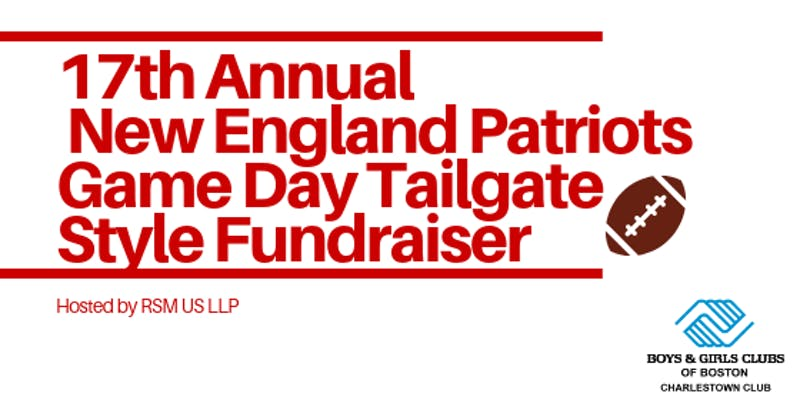 patriots game day tailgate style fundraiser